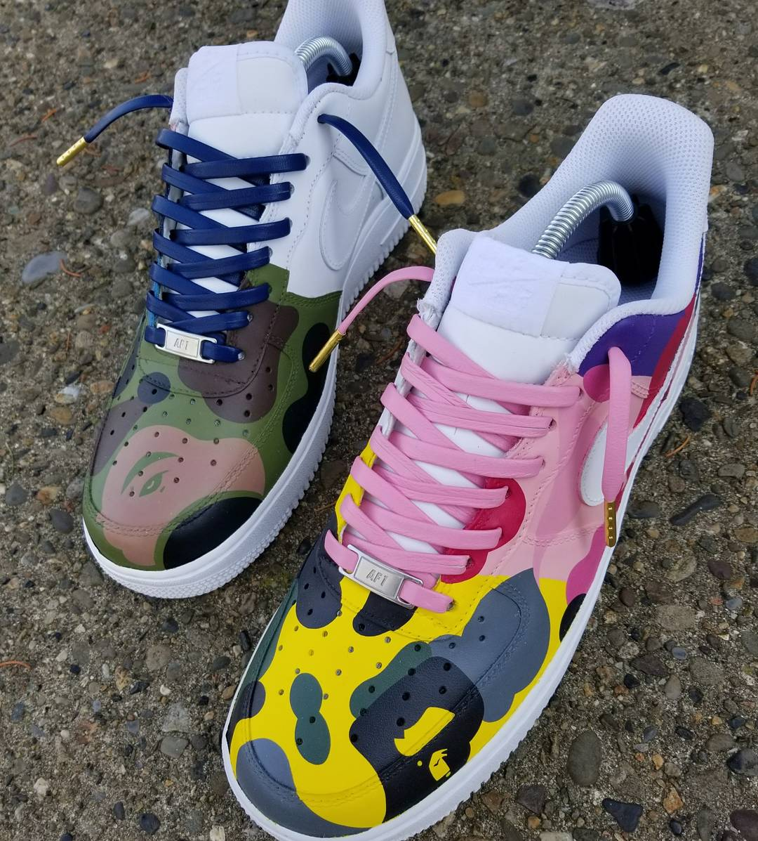"""Image of AF1 Low """"WHAT THE APE"""""""