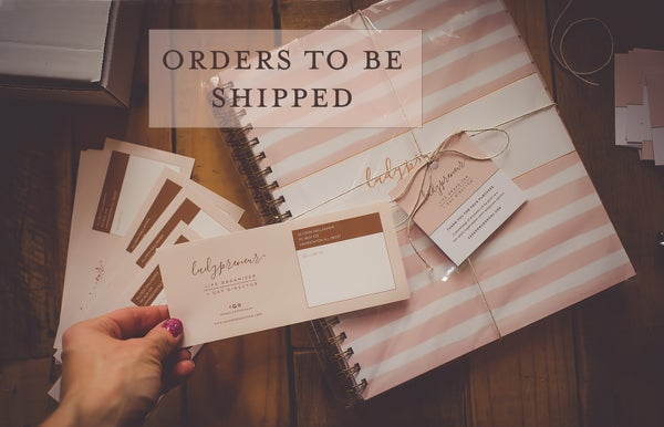 Image of Ladypreneur Life Organizer + Day Director ORDERS TO BE SHIPPED