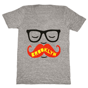 Image of Brooklyn Mustache V-Neck
