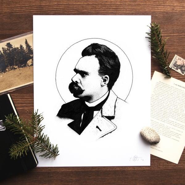 Image of Nietzsche Print