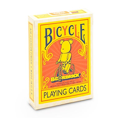 "Image of ""BE@BRICK"" BICYCLE PLAYING CARDS"