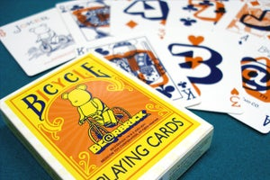 """Image of """"BE@BRICK"""" BICYCLE PLAYING CARDS"""