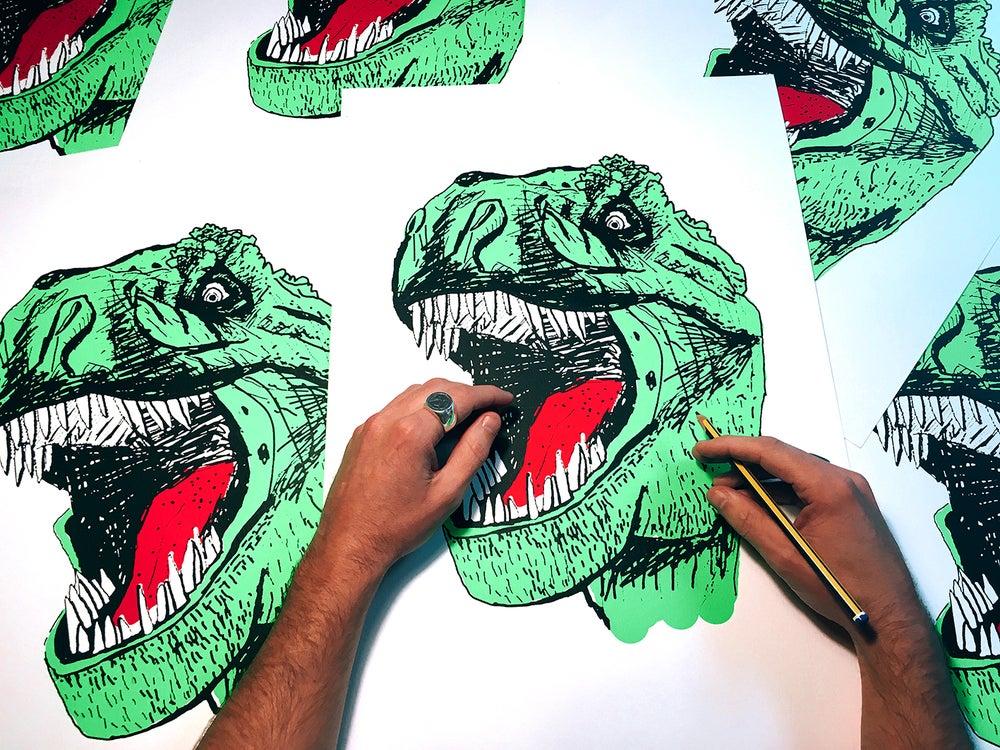 Image of Serigrafia T-rex