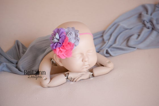 Image of Blossom Cluster Newborn Headband