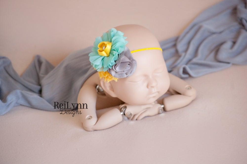 Image of Ella Cluster Newborn Headband