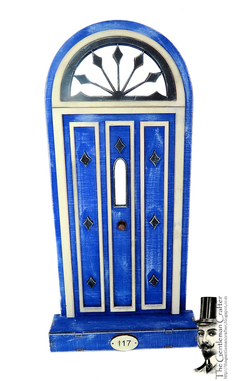 Image of #117 Fairy Lane- Blue Door