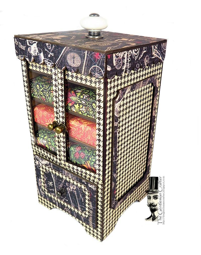Image of Kim's Tini Mini Cabinet- Empty