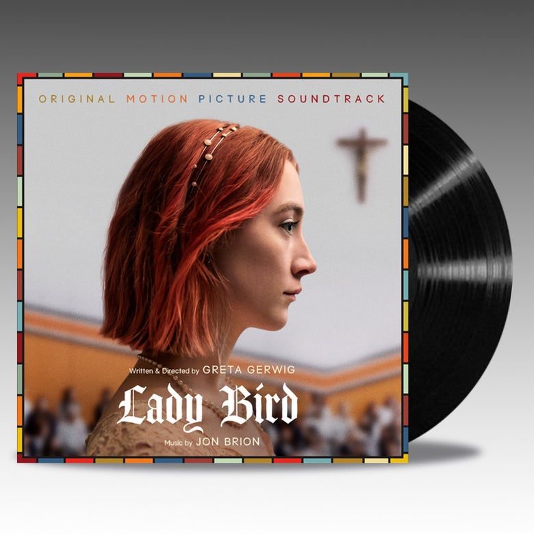 Image of Lady Bird (Original Motion Picture Soundtrack) 'Black Vinyl' - Jon Brion
