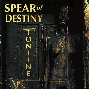 "Image of SPEAR of DESTINY ""Tontine"" Signed Black Vinyl Album + Gratis 2 Track Demo"