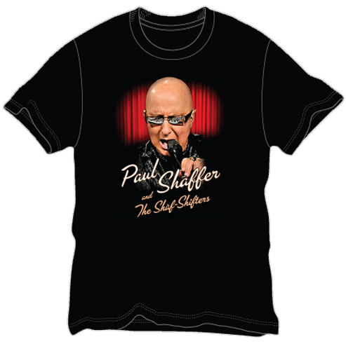 Image of Paul Shaffer and The Shaf-Shifters Mens T-Shirt