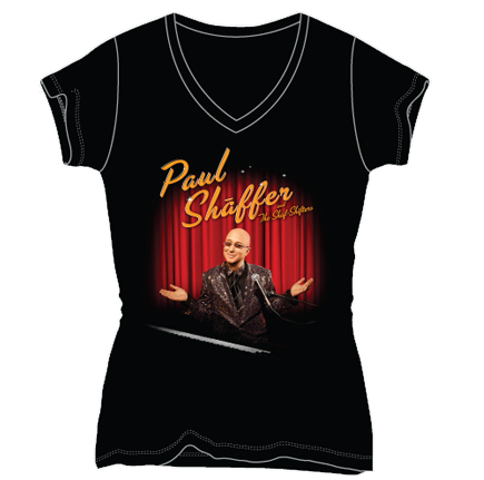 Image of Paul Shaffer and The Shaf-Shifters Ladies Color T-Shirt