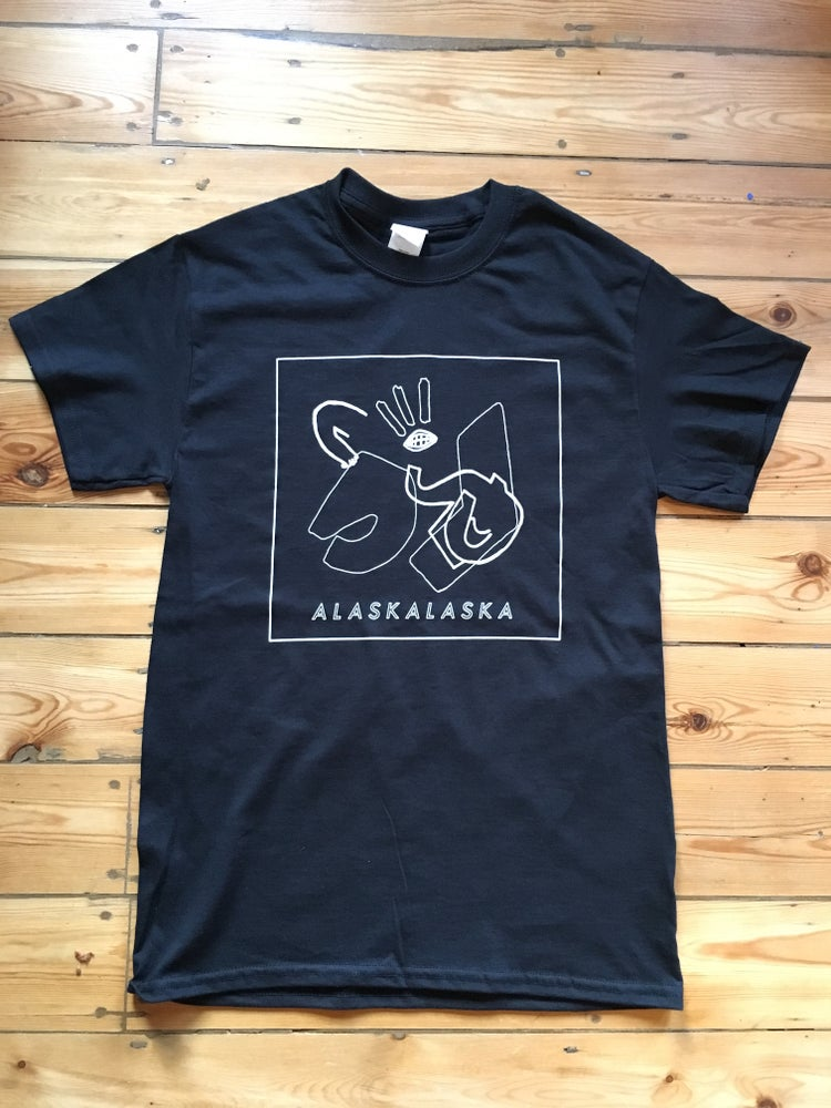 Image of SCREENPRINTED BLACK TEE