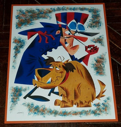Image of DICK DASTARDLEY and MUTTLEY 11x14 PRINT
