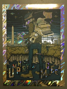 Image of Umphrey's McGee - February 15th, 2018 - The Anthem - Lava Foil Variant