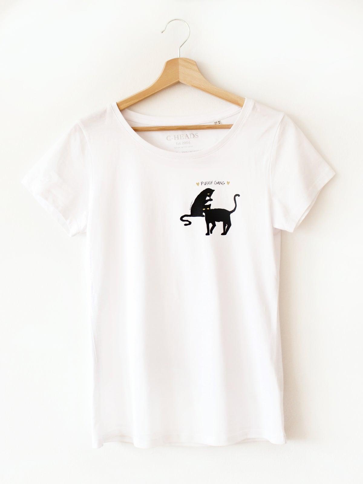 "Image of C-Heads ""Pussy Gang"" Women´s T-Shirt"
