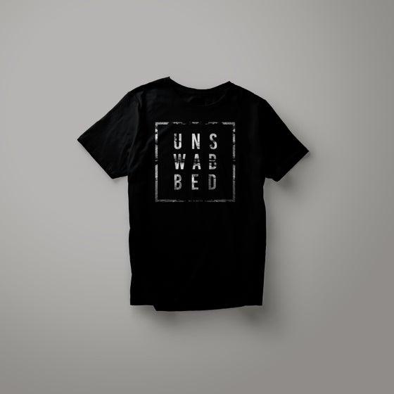 Image of T-Shirt Noir/Blanc Unswabbed - Modèles Homme ou Femme