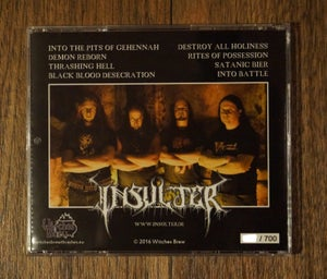 Image of Crypts Of Satan (2016) CD