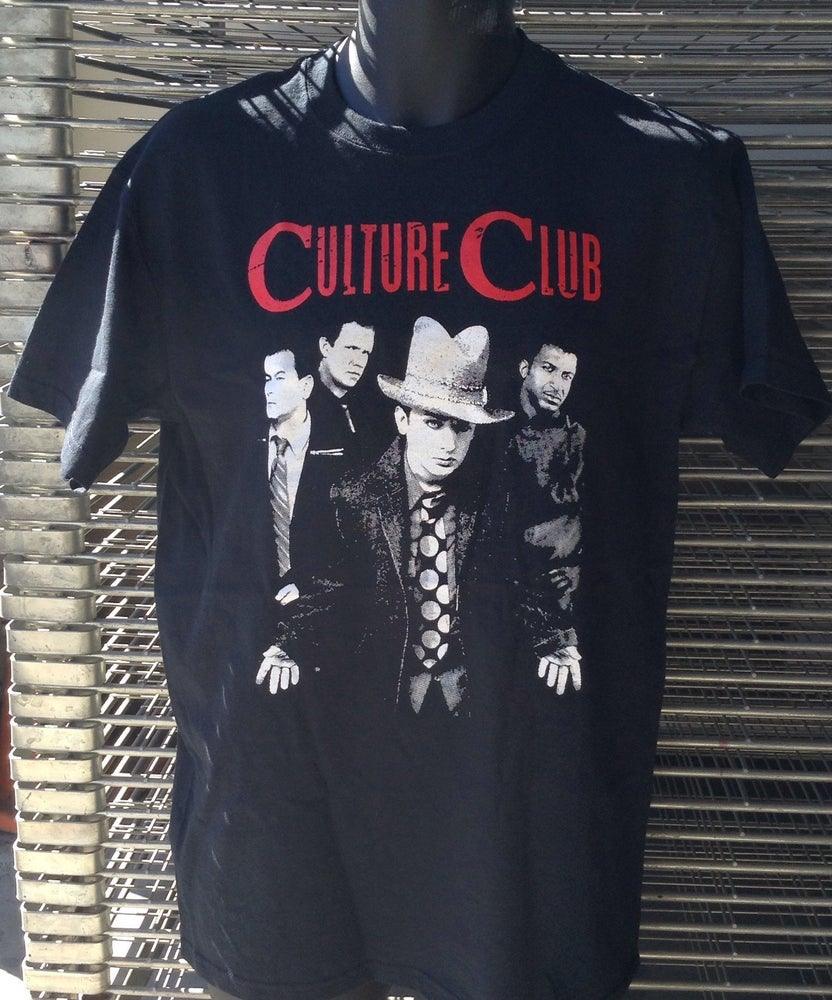 Image of FREE BOY GEORGE + AUSTRALIA CULTURE CLUB T 2FOR1- BUY NOW!