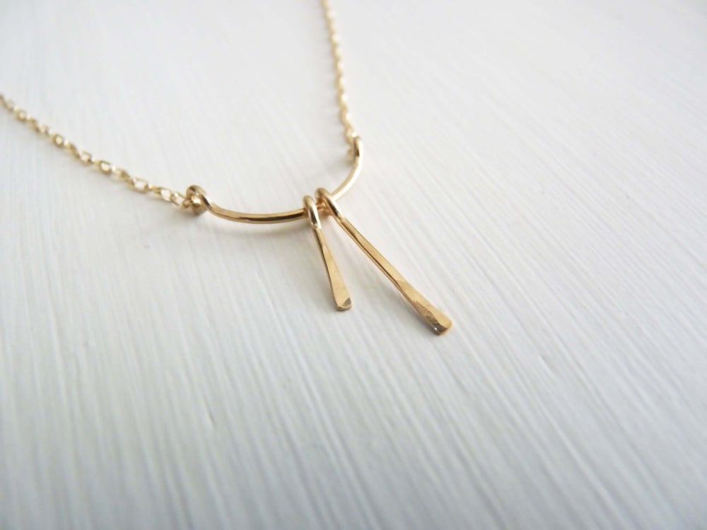 Image of Sisters necklace