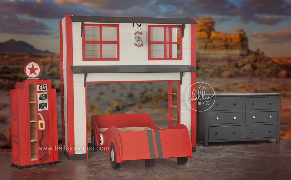 Image of Garage Car Bed