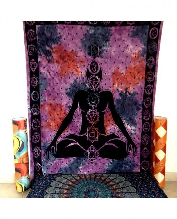Image of Meditation Chakra Tapestry
