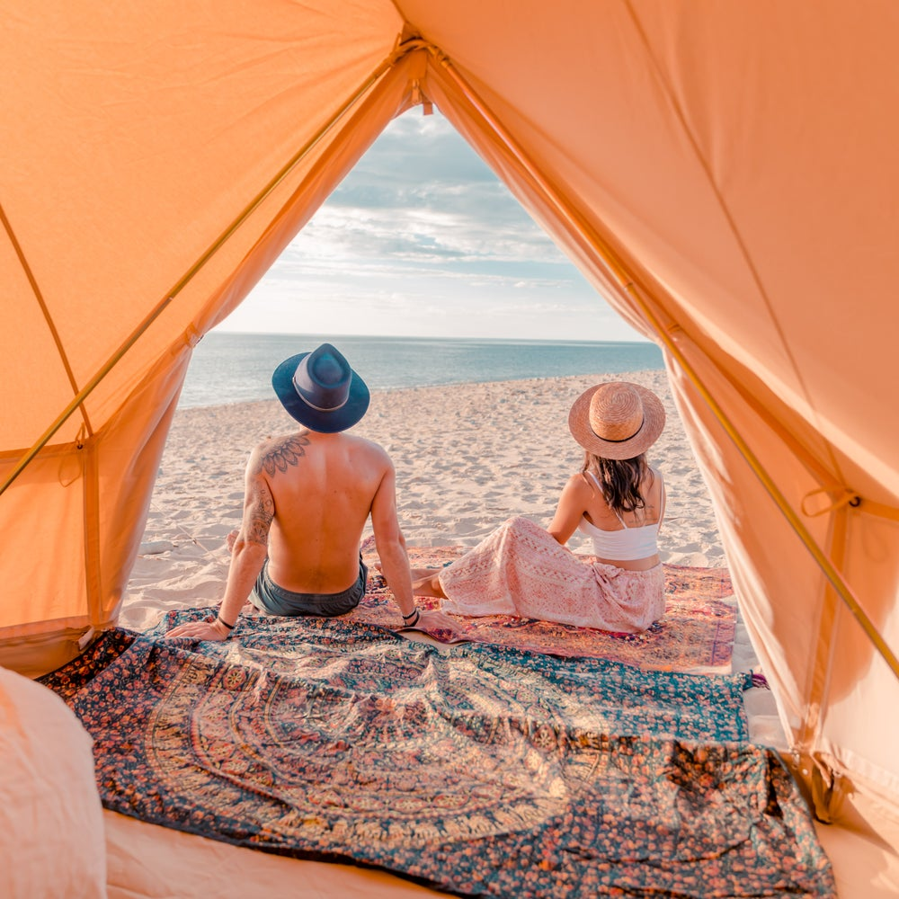 Image of INDIE BELL TENT 500 MESH WALLS