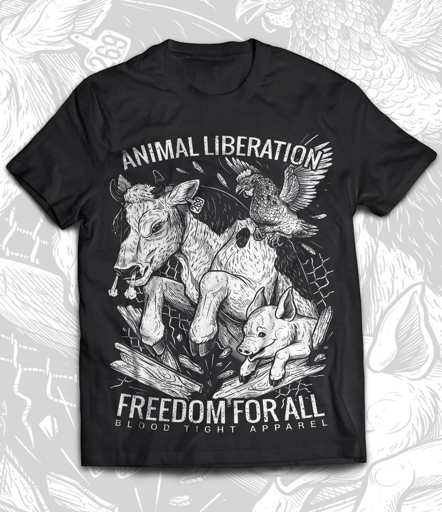 Image of FREEDOM FOR ALL T-SHIRT