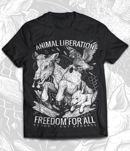 Image of FREEDOM FOR ALL T-SHIRT (Pre-Order)