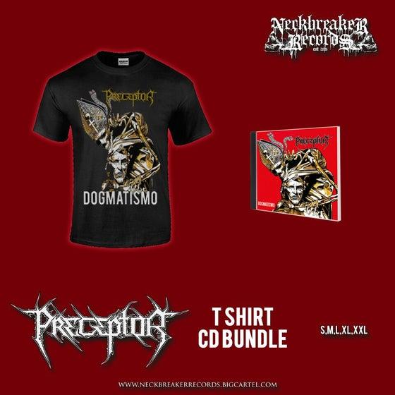 Image of NBR 006 Preceptor - Dogmatismo CD + Shirt Bundle Preorder