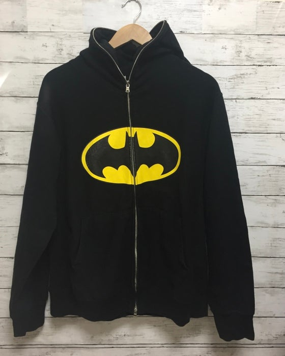Image of Bape x DC Comics Batman Vintage Full-zip Hoodie (Blk)