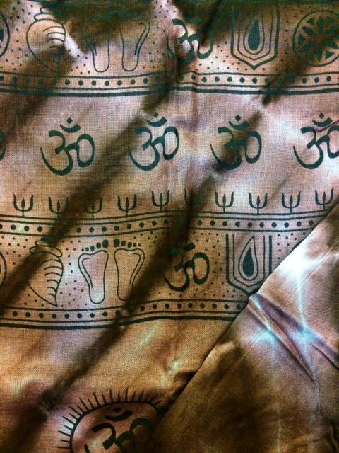 Image of Om Scarves Black Prints
