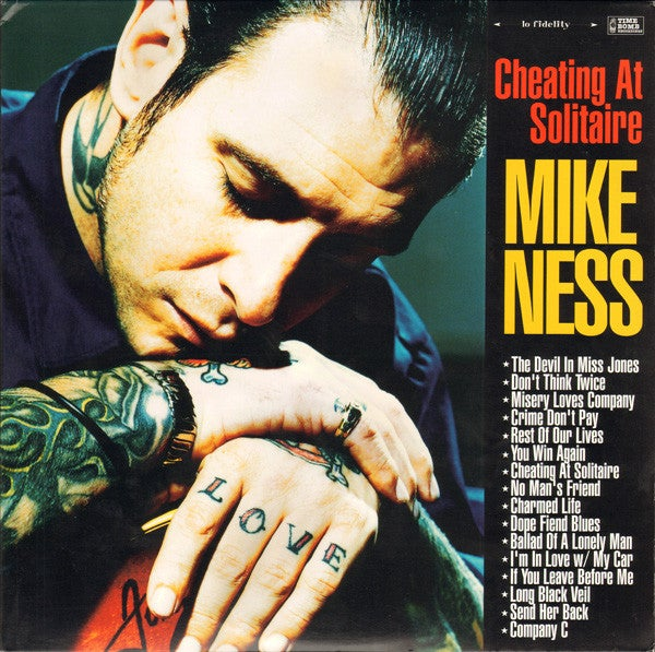 Image of Mike Ness - Cheating at Solitaire 2xLP (pre-order)