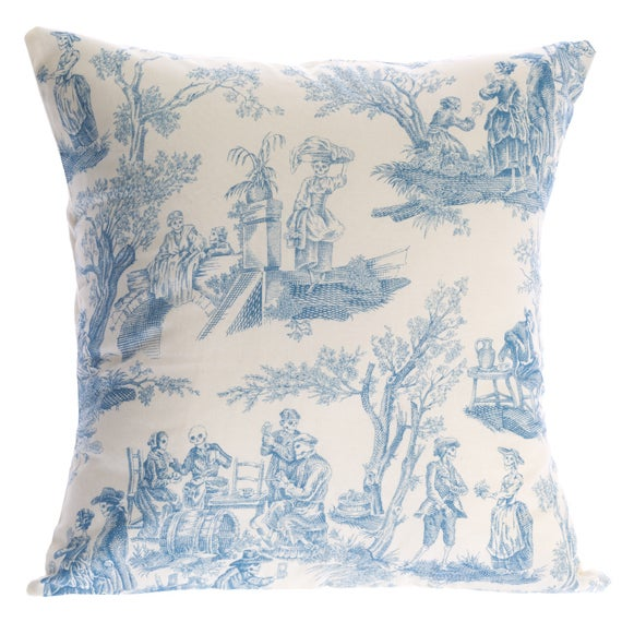 Image of Day of the Dead toile - cushion cover