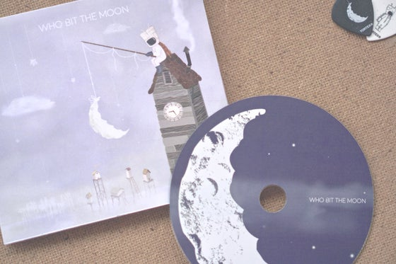 Image of Who Bit The Moon / CD (limited run)