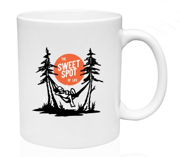 Image of Sweet Spot of Life Hammock - Coffee Mug