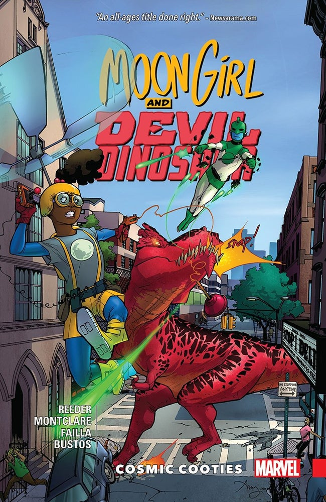 Image of Moon Girl & Devil Dinosaur Vol 2: Cosmic Cooties