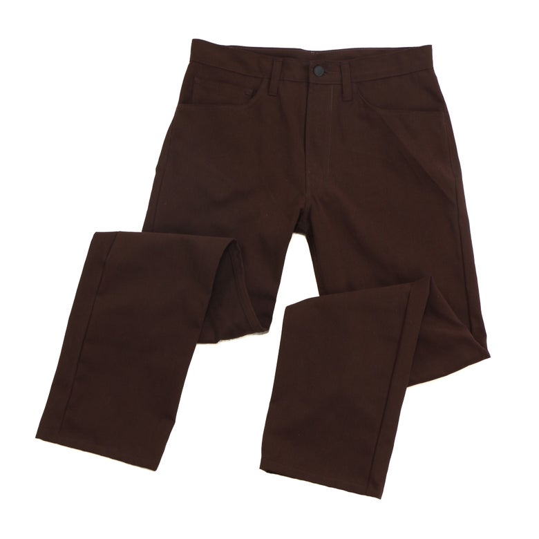 Image of DOMEstics. Brown Midweight Pants