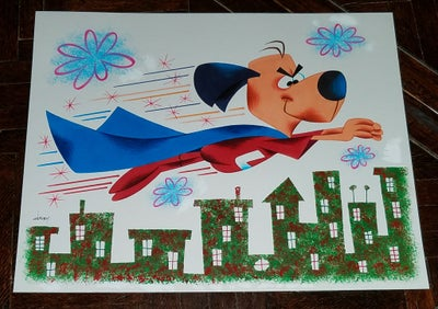 Image of UNDERDOG 11x14 ORIGINAL ART