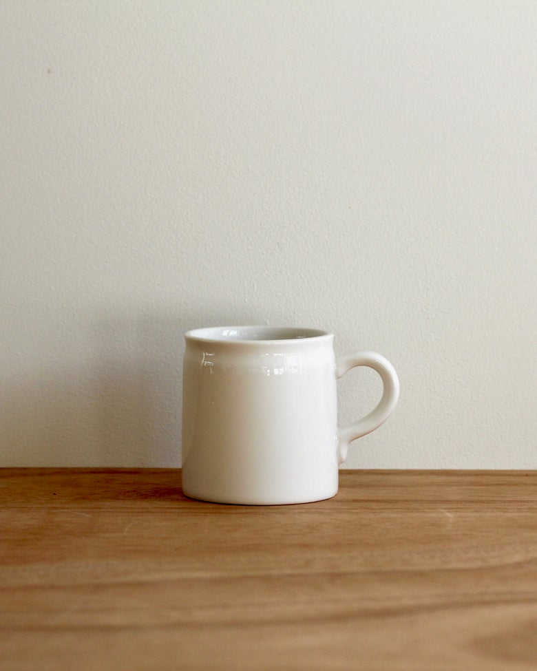 Image of Diner Coffee Cup - White
