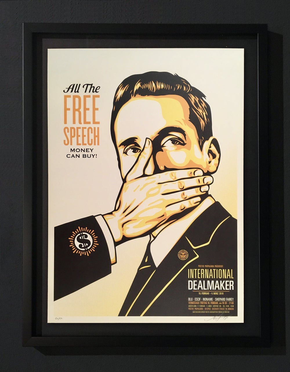 Image of SHEPARD FAIREY - FREE SPEECH