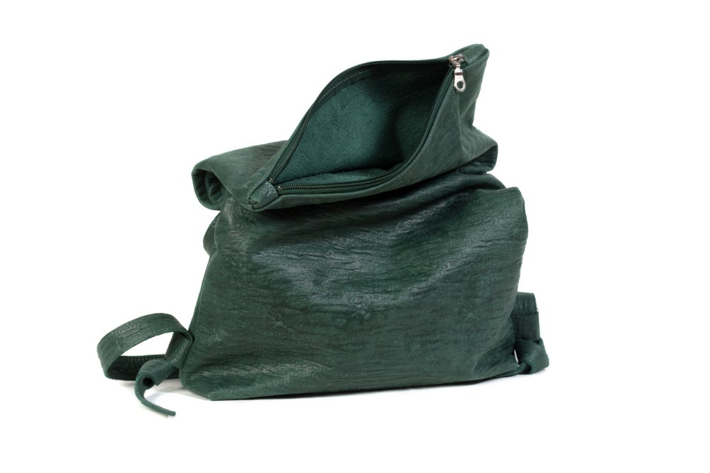 Image of Zaragoza Convertible Backpack w Zip - forest