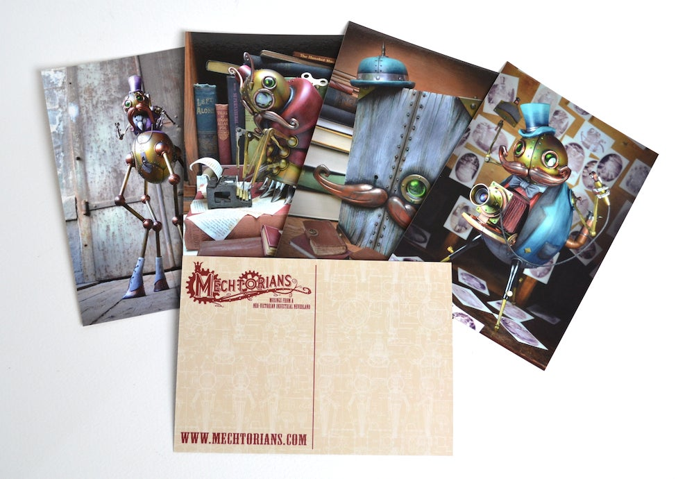 Image of Mechtorian Postcard Selections *FREE SHIPPING*