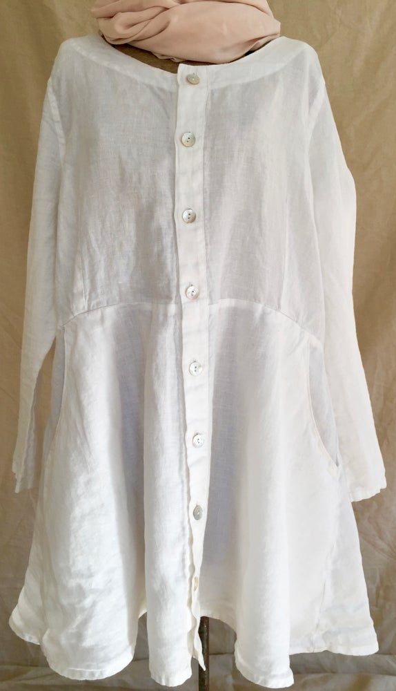 Image of linen blouse