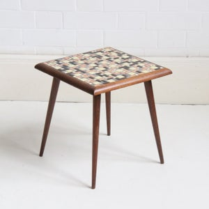 Image of Dutch small mosaic side table