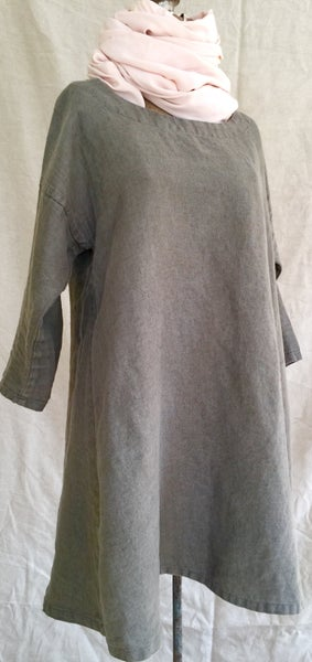 Image of linen bell tunic