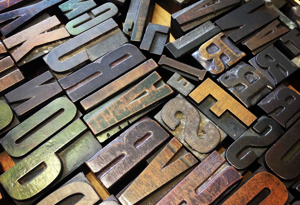 Image of INTRODUCTION TO LETTERPRESS.  Sat. March 31th. 2018.