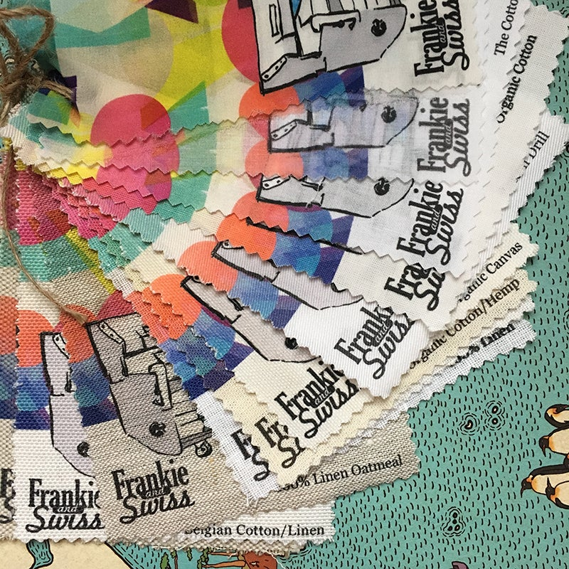 Image of PRINTED fabric swatch pack