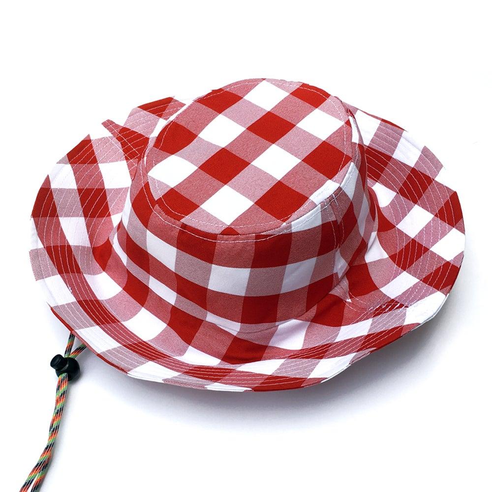 Image of DIXIE BUCKET HAT (CHERRY)