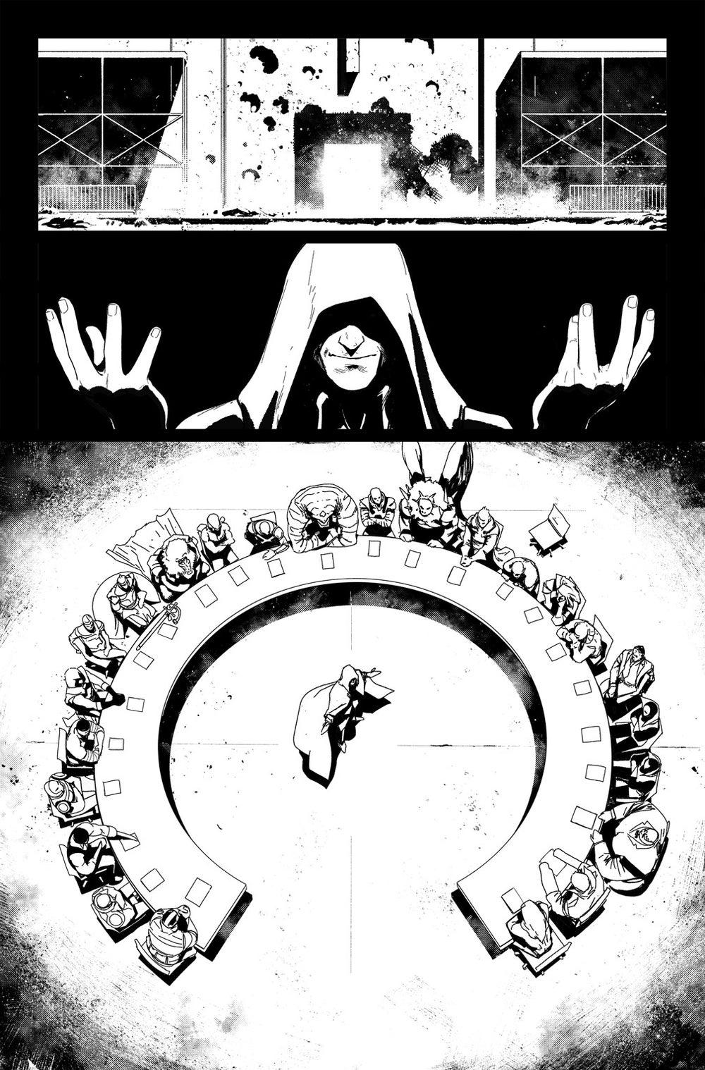Image of DEFENDERS #10, p.17 ARTIST'S PROOF