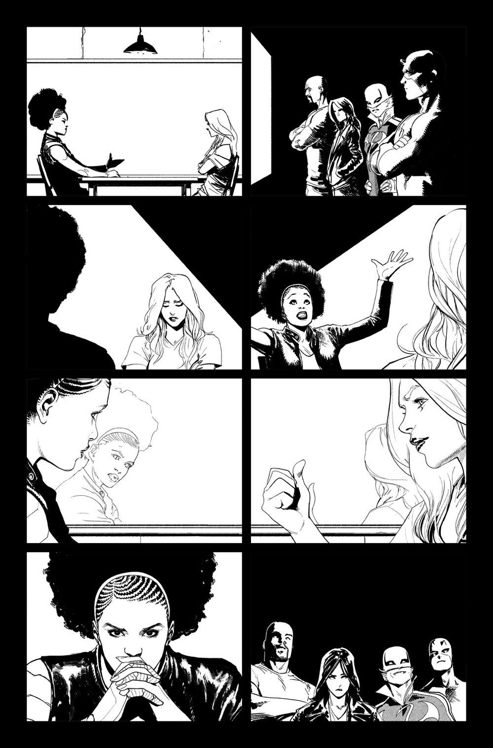 Image of DEFENDERS #10, p.12 ARTIST'S PROOF